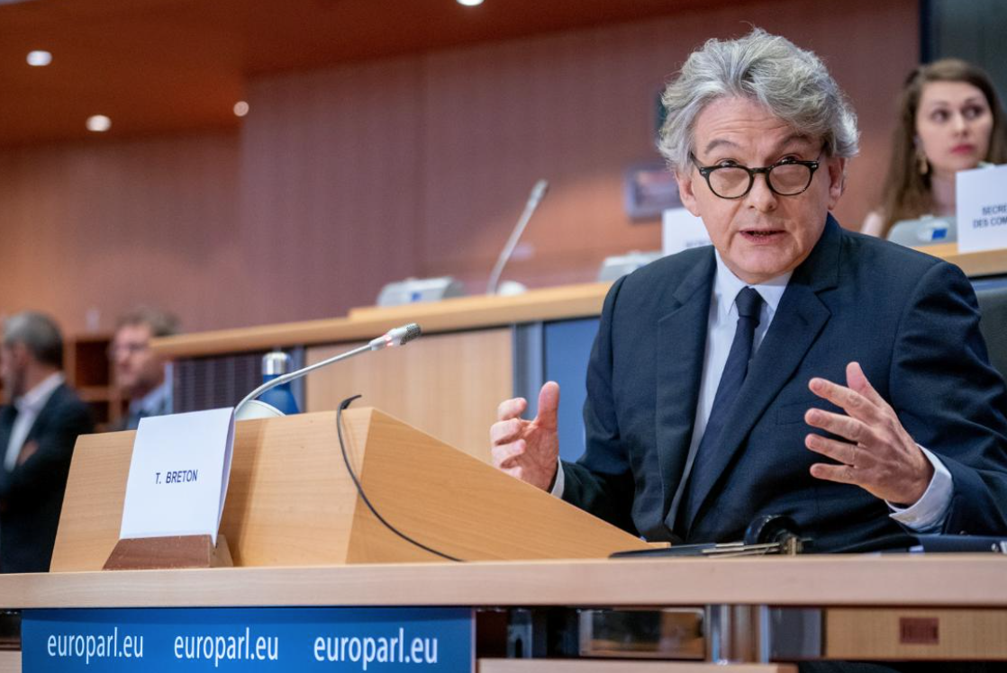 Industry Commissioner Thierry Breton