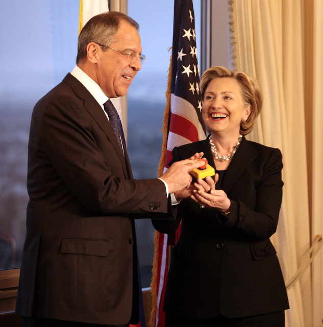 Lavrov And Clinton Reset