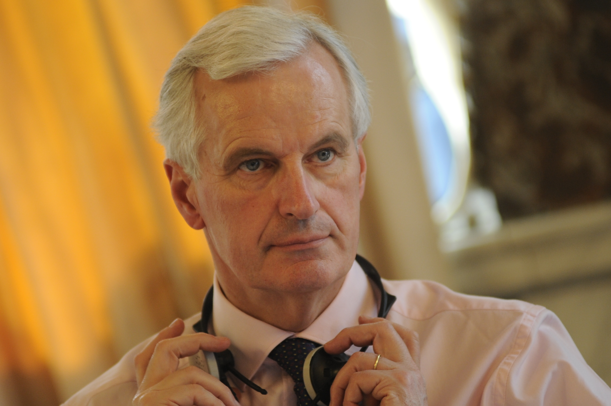 Michel Barnier At European Peoples Party Summit March 2010
