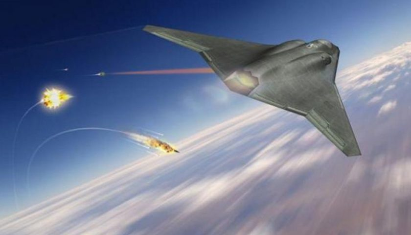 Shield Us Air Force Laser 840X480