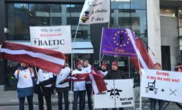 Baltic Farmers Protest
