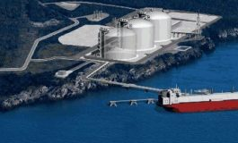 Croatian Lng Terminal At Krk Island