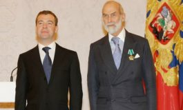 Dmitry Medvedev And Michael Of Kent