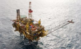 Gannet Platform In The North Sea