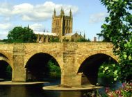 Cathedral And Wye Bridge 2