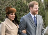 Harry And Meghan On Christmas Day 2017 Cropped