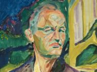Munch Self Portrait In Front Of The House Wall 1926 Cropped S W620 H300 Q100 M1496408042