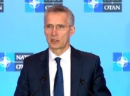 Nato Secretary General Press Conference At Foreign Ministers Meeting