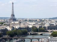 Seine And Eiffel Tower From Tour Saint Jacques 2013 08