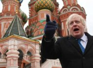 Boris Johnson Red Square