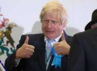 Boris Johnson Thumbs Up