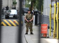 British Soldier Downing Street