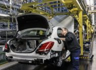 Mercedes Benz C Class Bremen Plant Inauguration Checks Press Shot