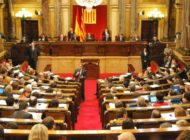Parliament Of Catalonia In Session