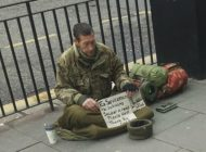 Soldier Homeless