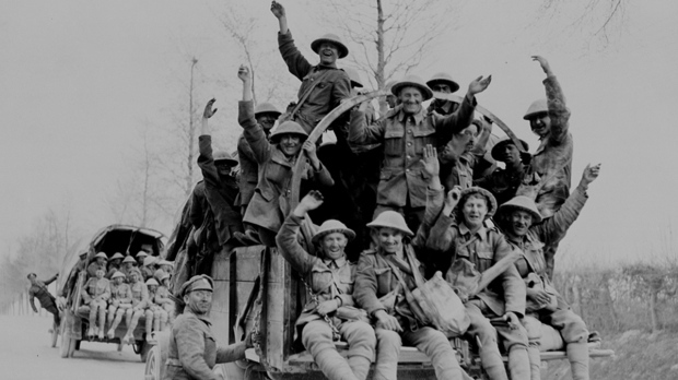 Canadians Ww1