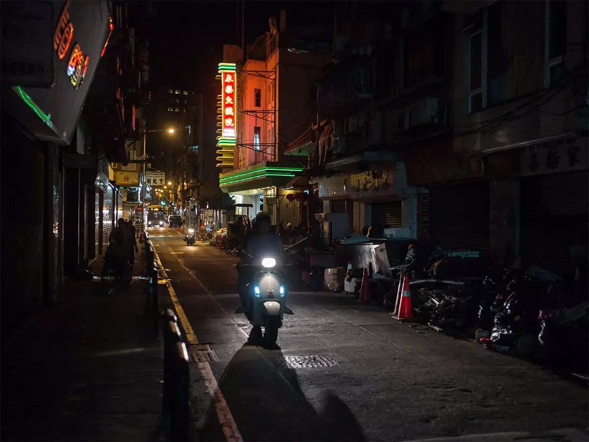 China Power Outage