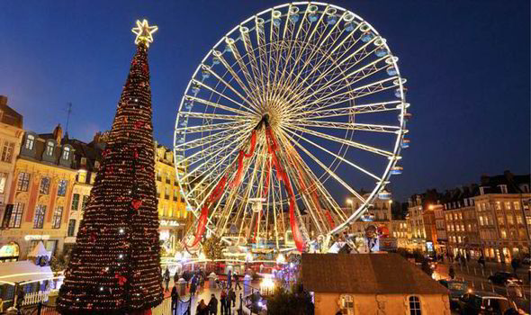 Christmas Market In Lille 2