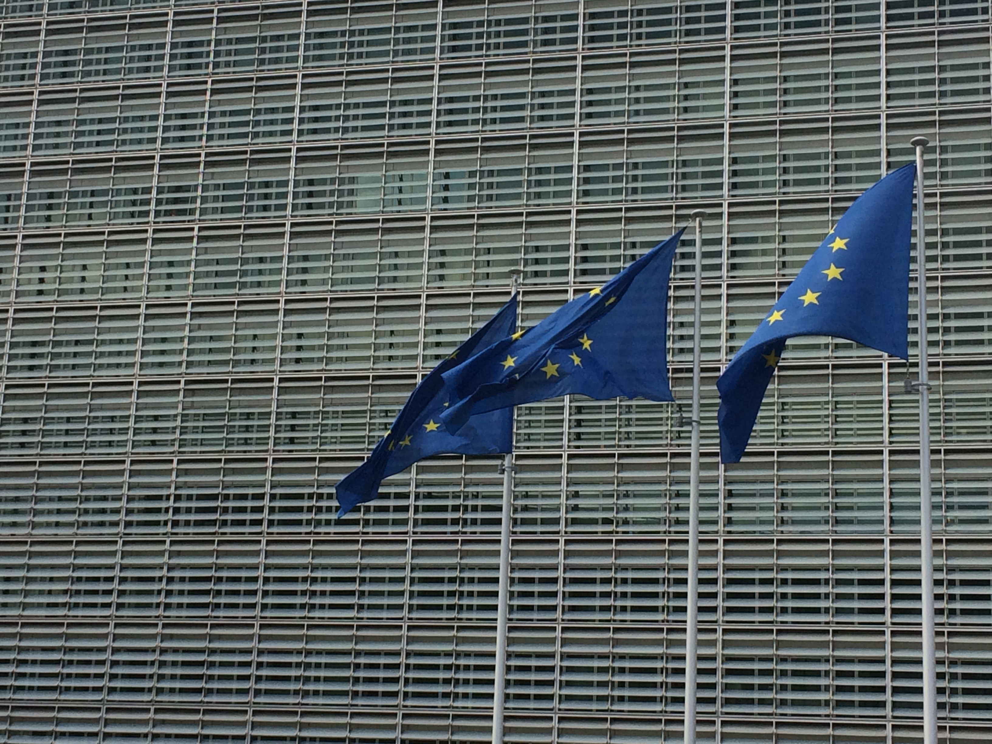 European Commission Eutoday Flags