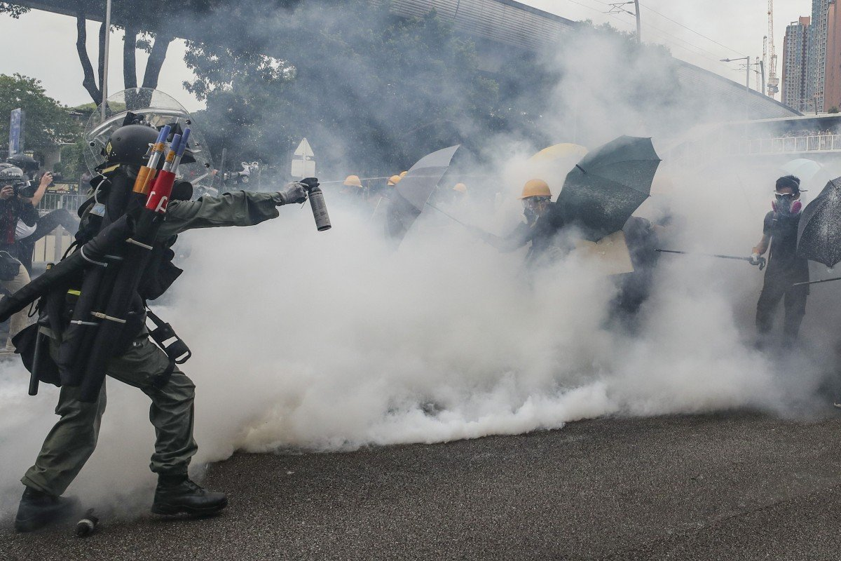 Hong Kong Tear Gas