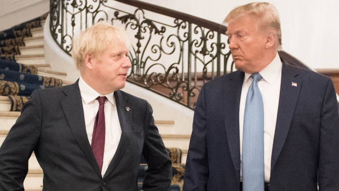 Johnson And Trump