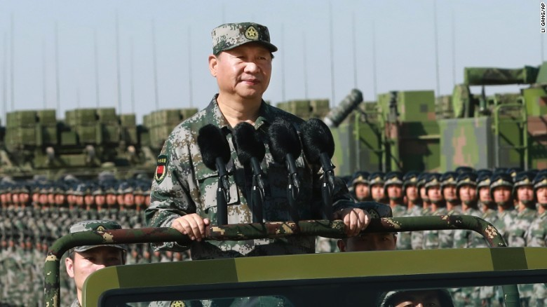 President Xi Troops