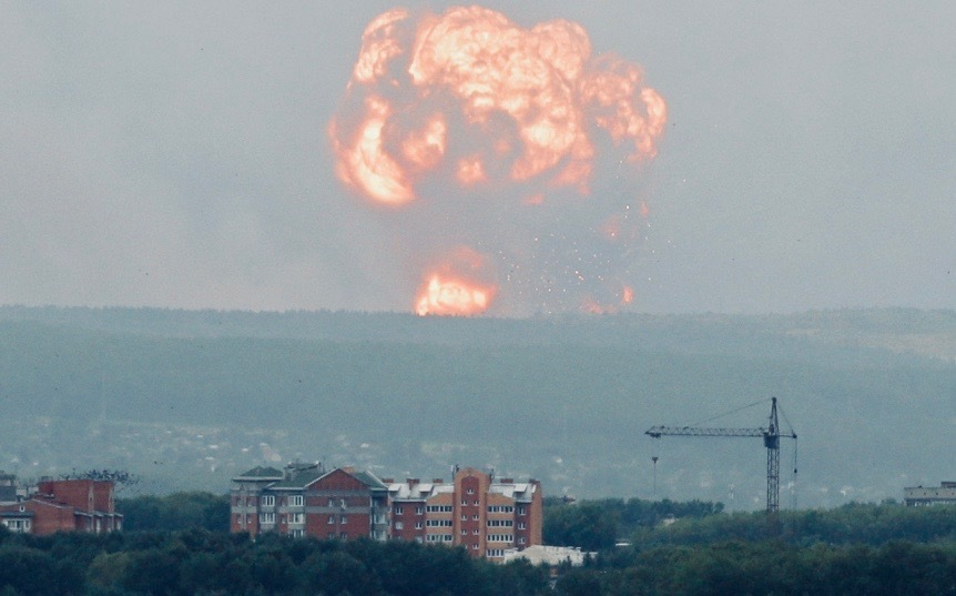 Reuters Russia Blast 05 Aug19 2
