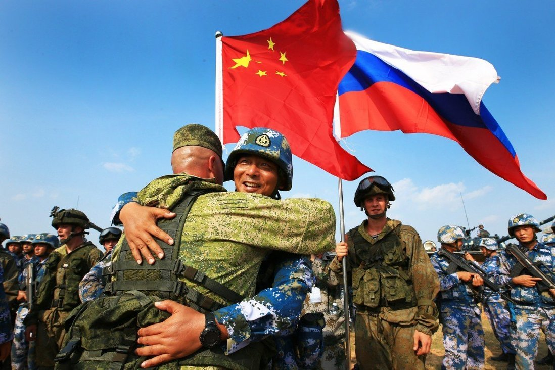 Russia Chinese Troops
